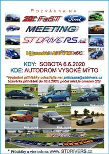 20th FAST FORD MEETING Vysoke Myto X icon