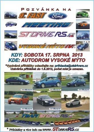 9th FAST FORD MEETING Vysoke Myto IV icon